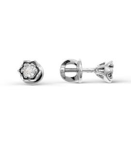 Серьги с бриллиантами Т335621818