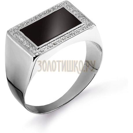 Кольцо с бриллиантами и эмалью Т381044882