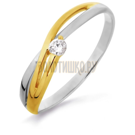 Кольцо с бриллиантом Т391016266