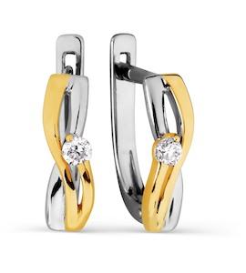 Серьги с бриллиантами Т391026472