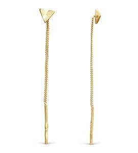 Серьги из желтого золота Т900622893
