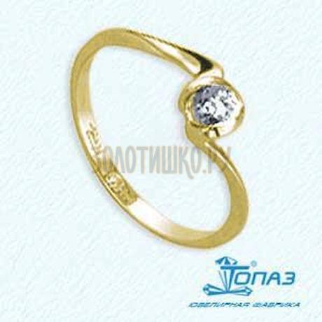 Кольцо с бриллиантом Т901011561