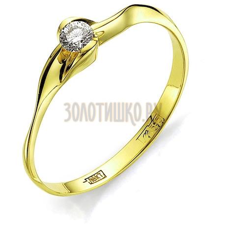 Кольцо с бриллиантом Т901011576