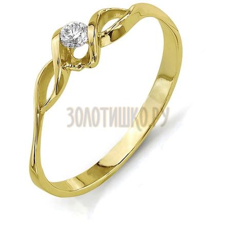 Кольцо с бриллиантом Т901011633