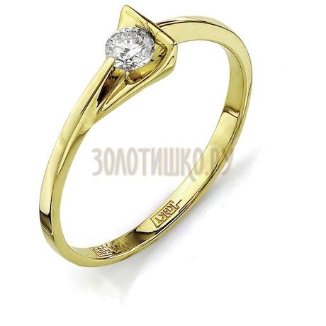 Кольцо с бриллиантом Т901011648