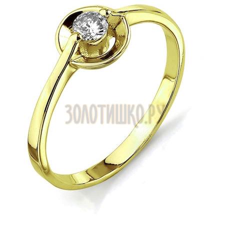 Кольцо с бриллиантом Т901011666