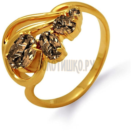 Кольцо с раухтопазами Т901012023_6