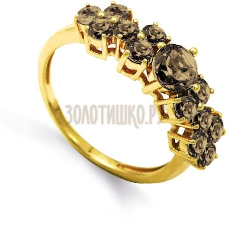 Кольцо с раухтопазами Т901012072-1_4