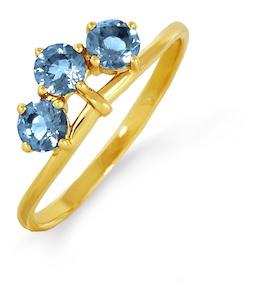 Кольцо с топазами Т901012675_4