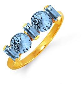 Кольцо с топазами Т901012780