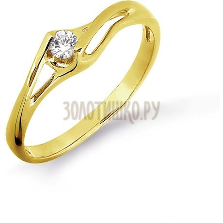 Кольцо с бриллиантом Т901016454