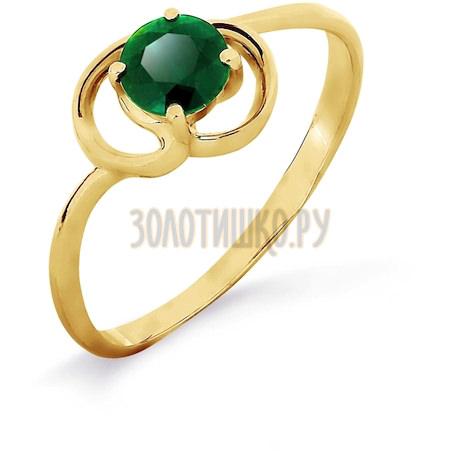 Кольцо с изумрудом Т901017013_2