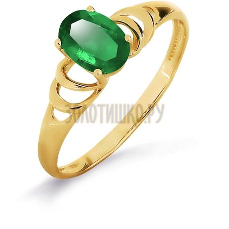 Кольцо с изумрудом Т901017014_2