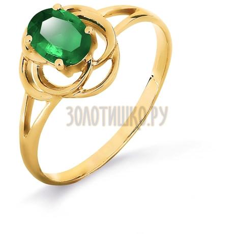 Кольцо с изумрудом Т901017015_3