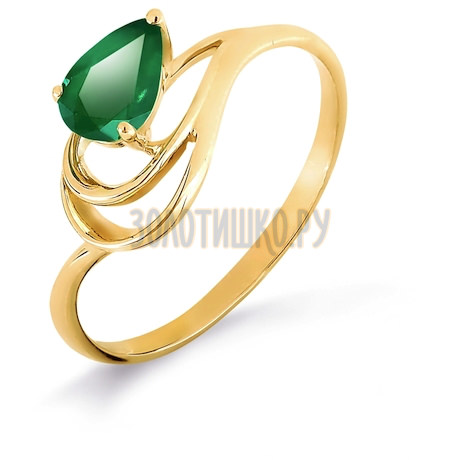 Кольцо с изумрудом Т901017016_2