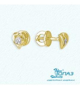 Серьги с бриллиантами Т901021712