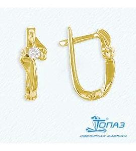 Серьги с бриллиантами Т901021715