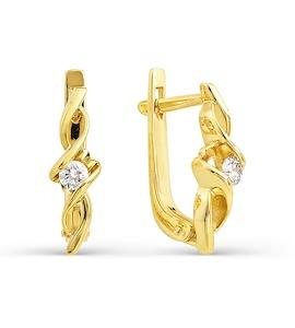 Серьги с бриллиантами Т901021763