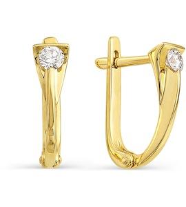 Серьги с бриллиантами Т901021771