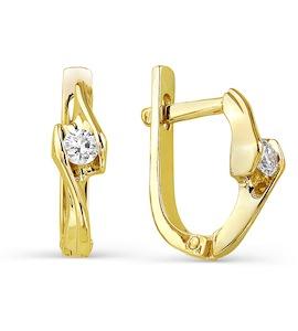 Серьги с бриллиантами Т901021788