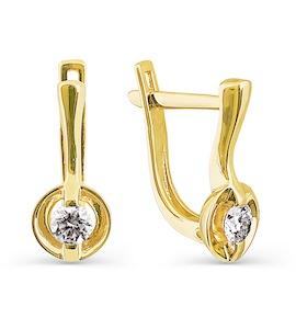 Серьги с бриллиантами Т901024097