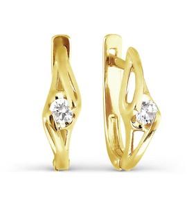 Серьги с бриллиантами Т901026730