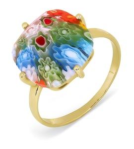 Кольцо с ювелирным стеклом Т902017361