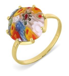 Кольцо с ювелирным стеклом Т902017386