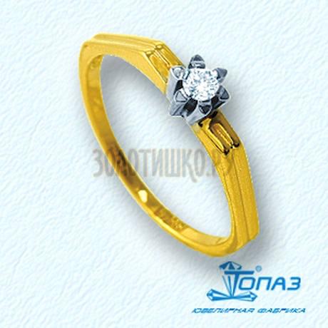 Кольцо с бриллиантом Т931011029