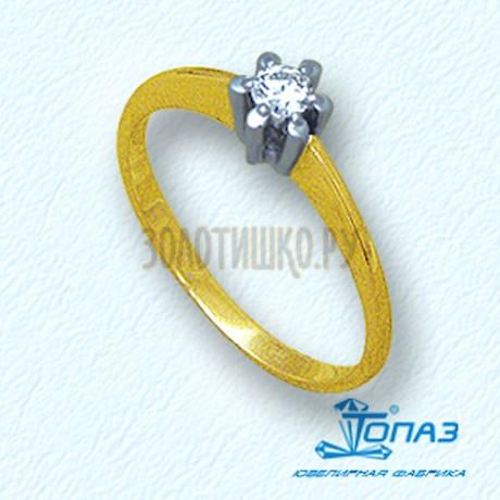 Кольцо с бриллиантом Т931011030