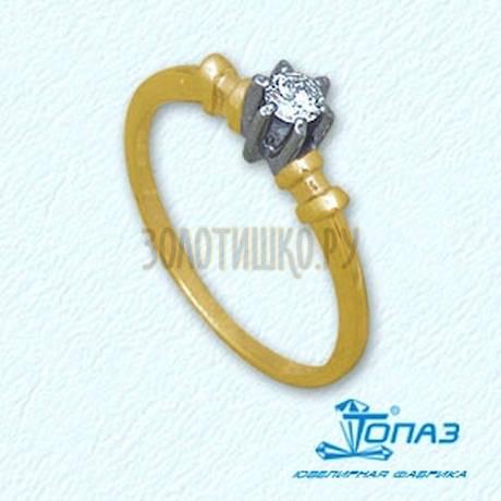 Кольцо с бриллиантом Т931011038