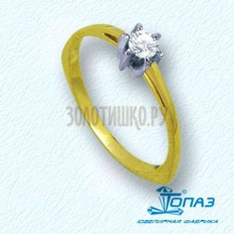 Кольцо с бриллиантом Т931011050