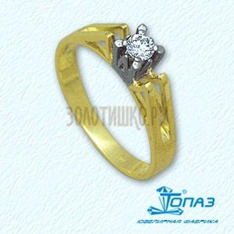 Кольцо с бриллиантом Т931011055