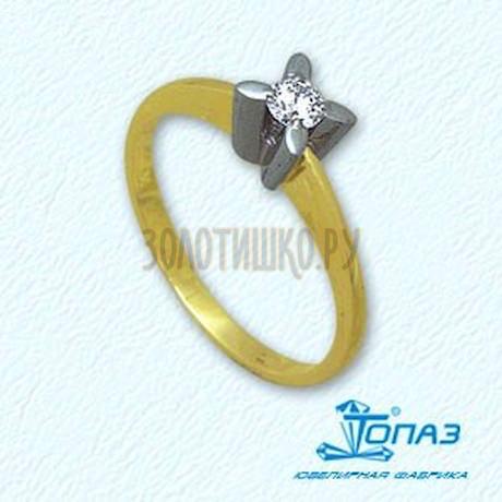 Кольцо с бриллиантом Т931011074