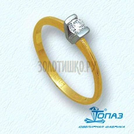 Кольцо с бриллиантом Т931011075