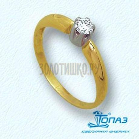 Кольцо с бриллиантом Т931011078