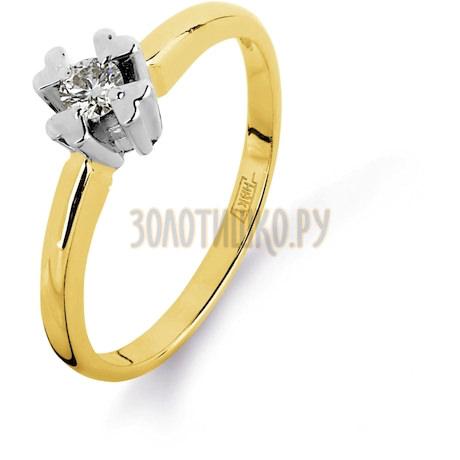 Кольцо с бриллиантом Т931011083
