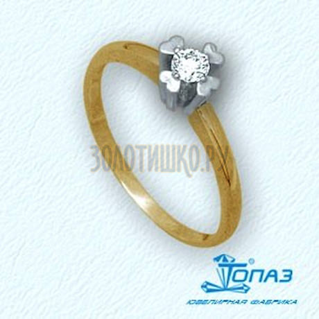 Кольцо с бриллиантом Т931011087