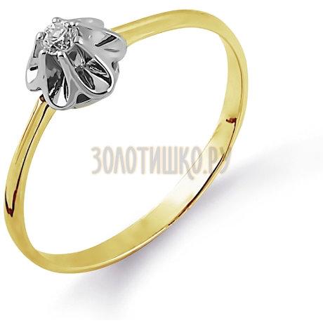 Кольцо с бриллиантом Т931014361