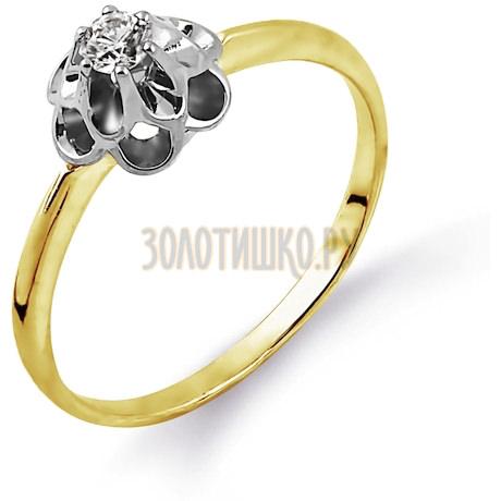 Кольцо с бриллиантом Т931014365