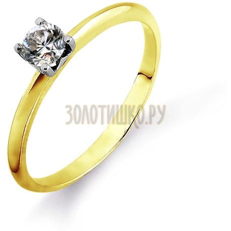 Кольцо с бриллиантом Т931014680