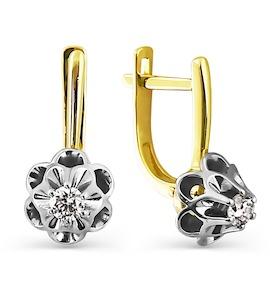 Серьги с бриллиантами Т931024812
