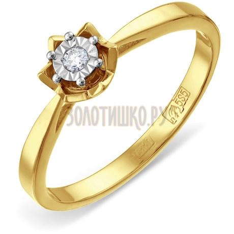 Кольцо с бриллиантом Т935611725
