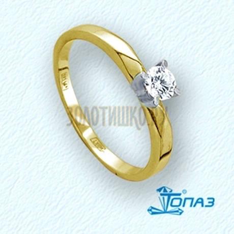 Кольцо с бриллиантом Т941011321-01