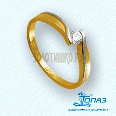 Кольцо с бриллиантом Т941011359