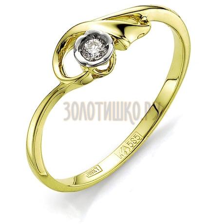 Кольцо с бриллиантом Т941011556