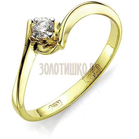 Кольцо с бриллиантом Т941011579