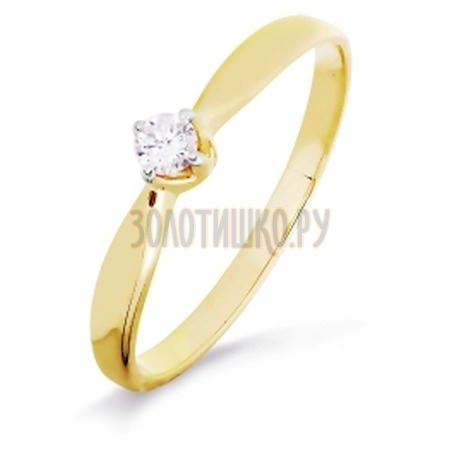 Кольцо с бриллиантом Т941016453