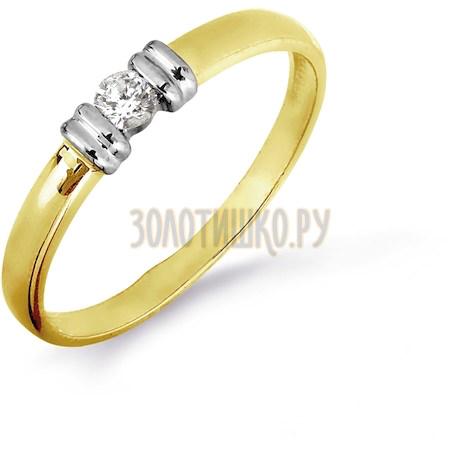 Кольцо с бриллиантом Т941016455