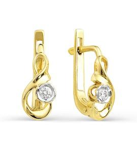 Серьги с бриллиантами Т941021709